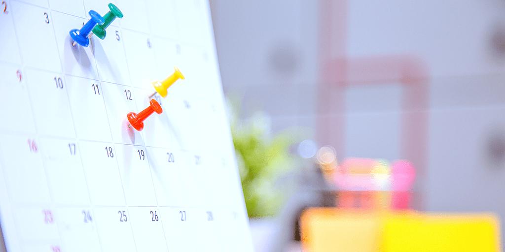 Calendarize your contents