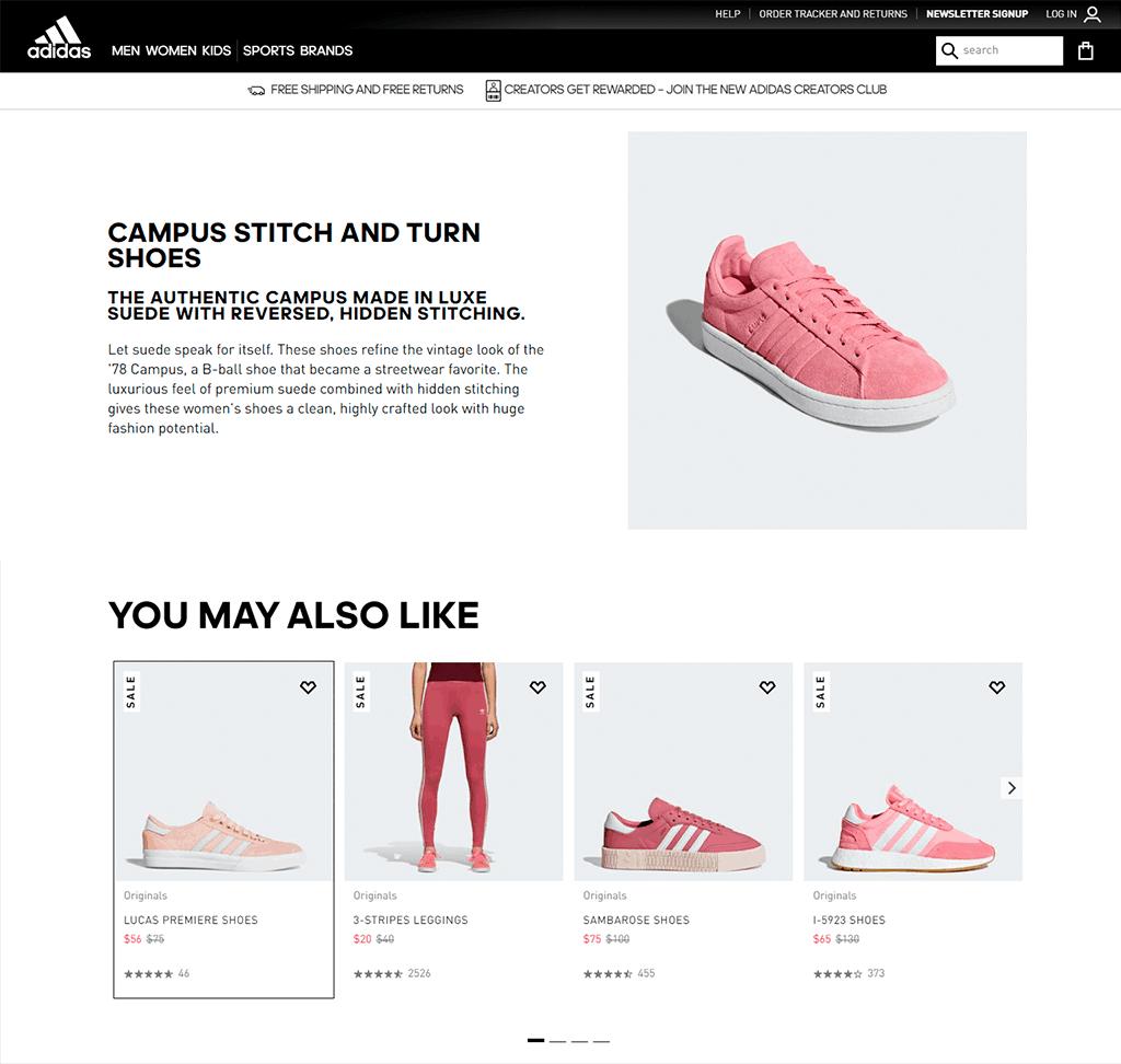 Relevancy - Adidas