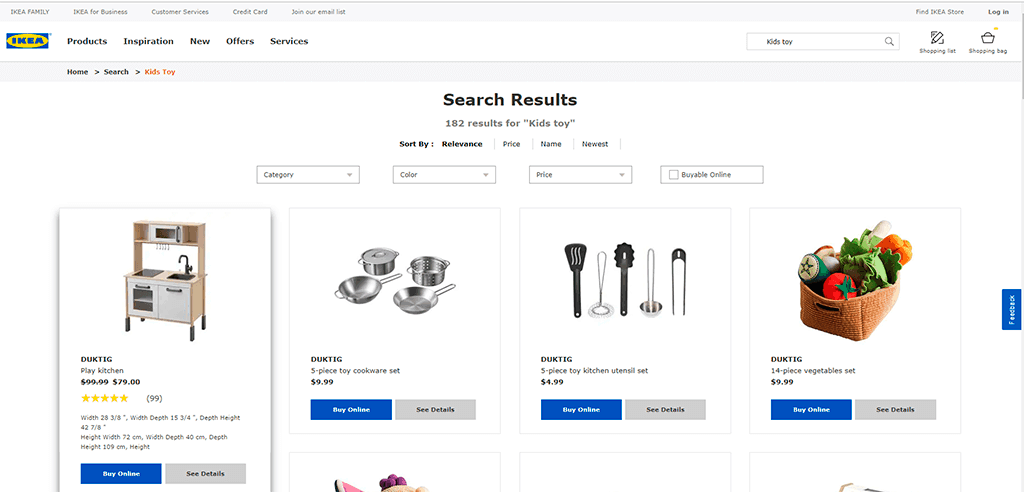 Search Results - IKEA