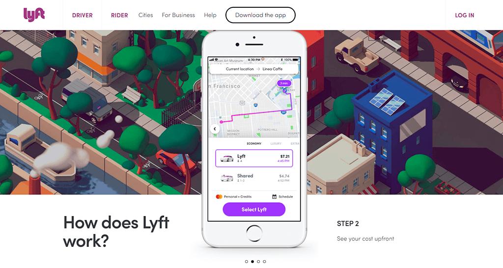UI - Lyft