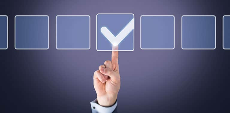 selecting correct option check