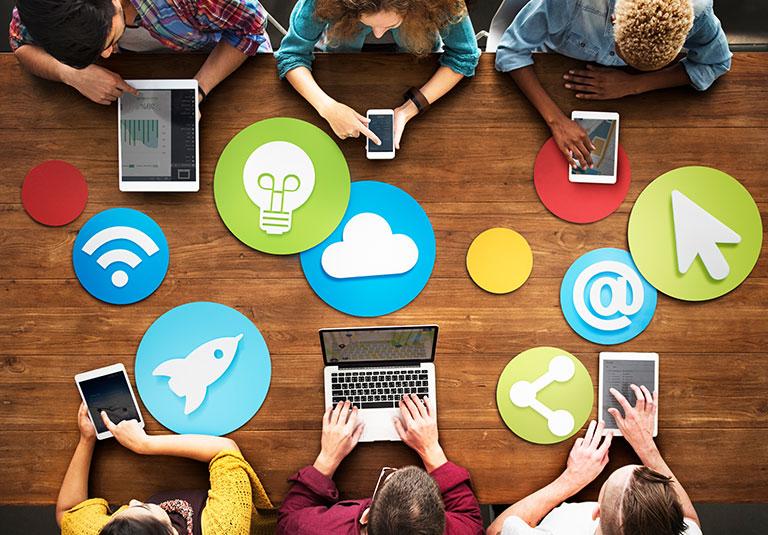 buyer behavior social b2b marketing