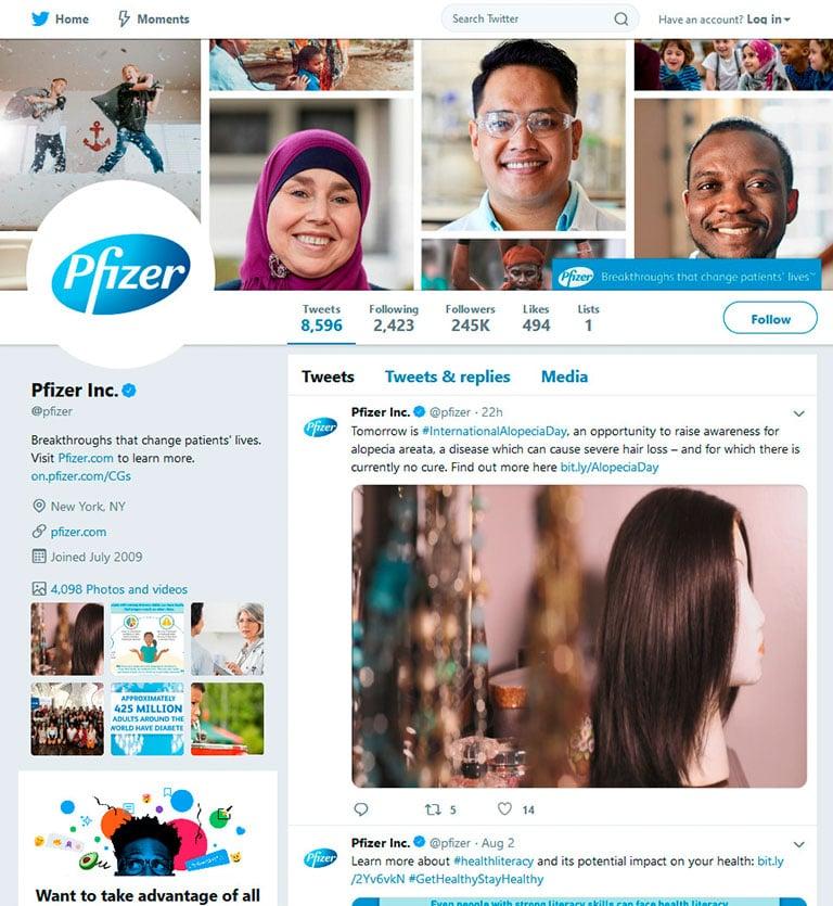 social media b2b marketing types