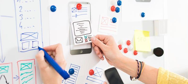 hands on board designing app