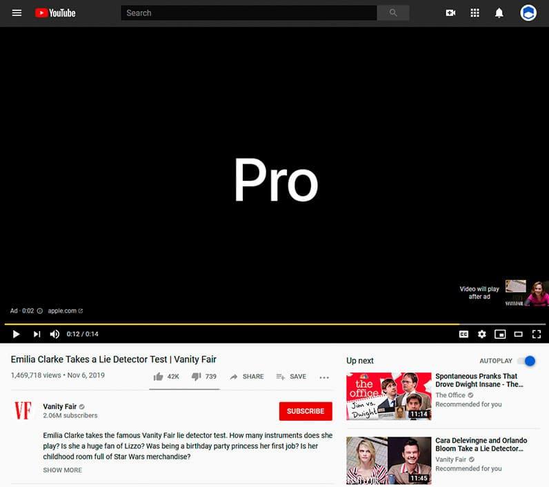 youtube ad screenshot