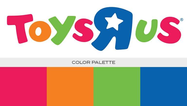 toys r us logo color scheme
