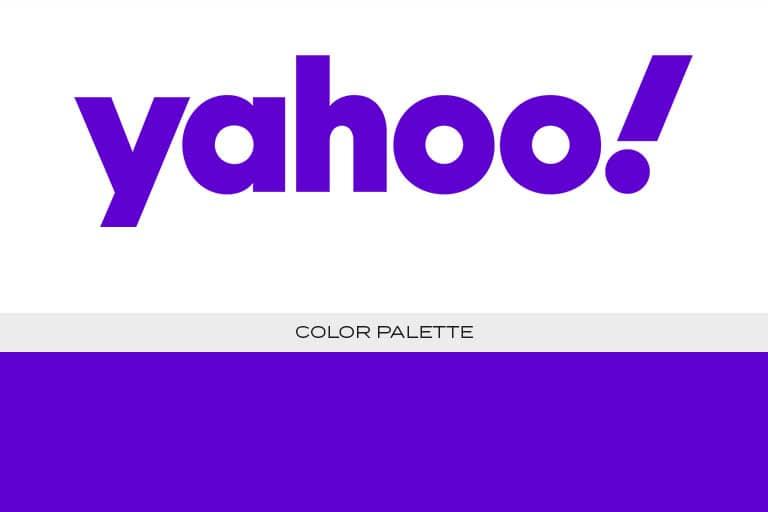 yahoo logo color scheme