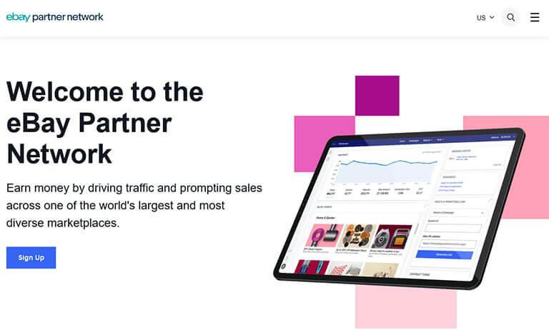 ebay affiliate screenshot