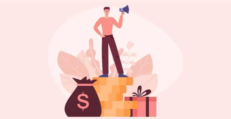 man promote income