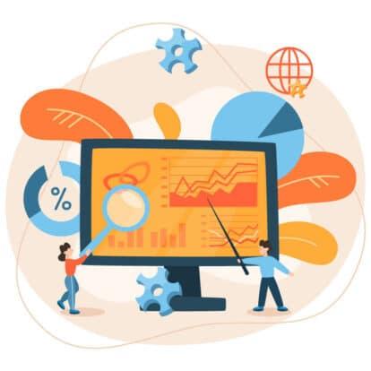 people computer analyze data