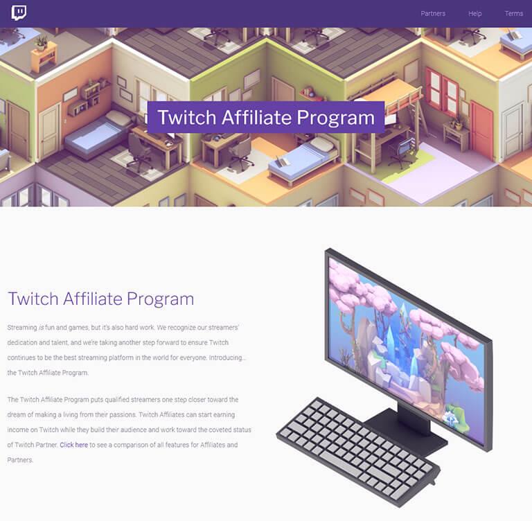 twitch affiliate screenshot