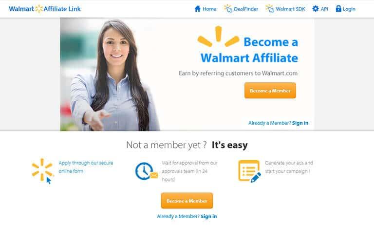 walmart affiliate screenshot