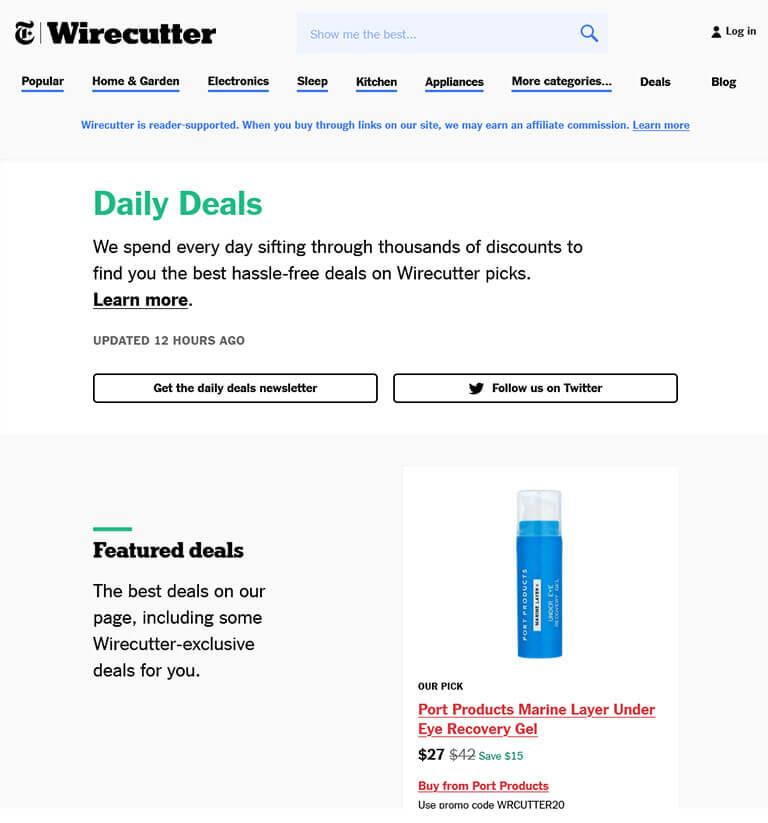 wirecutter screenshot
