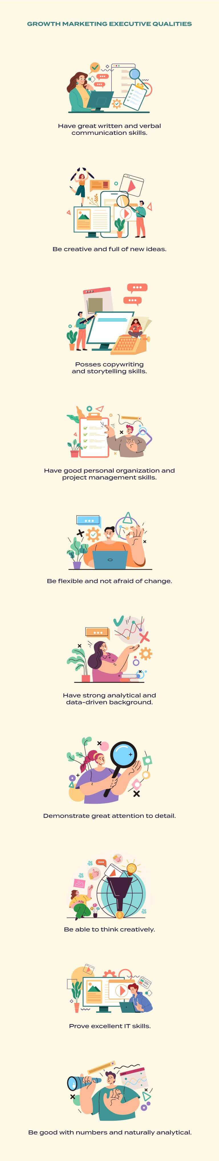 growth marketing manager qualities
